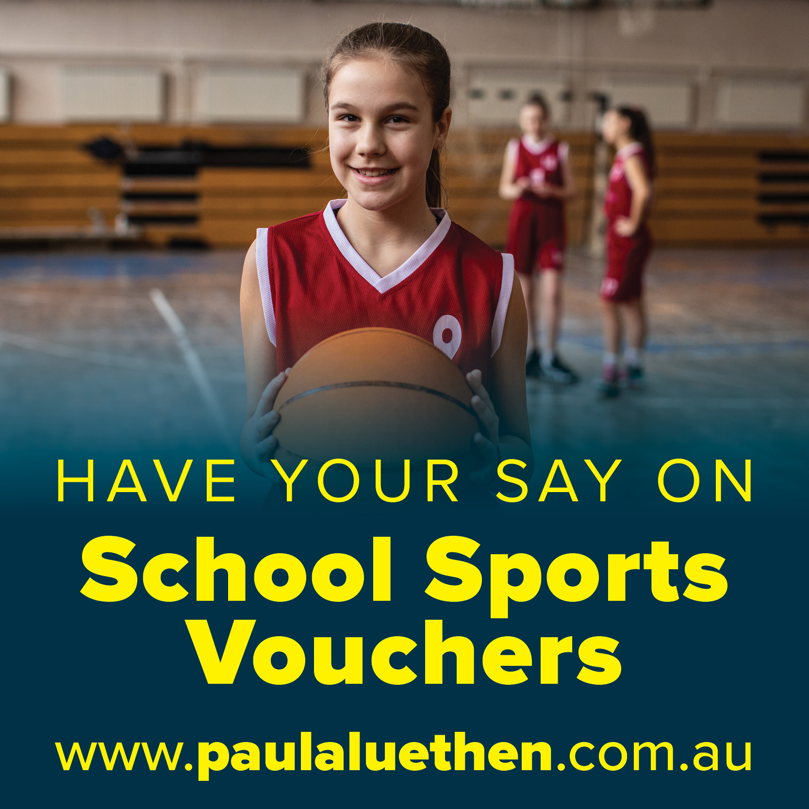 Have Your Say on the Sports Vouchers Program