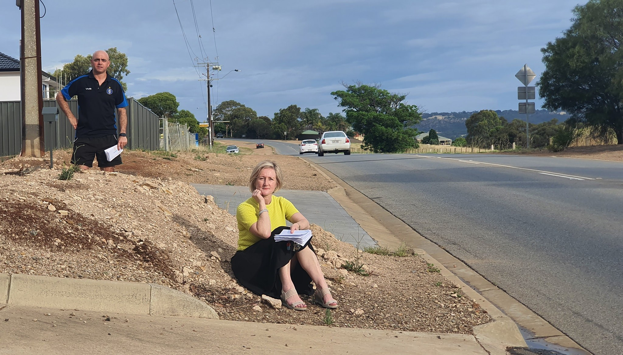 Green Valley Drive Footpaths