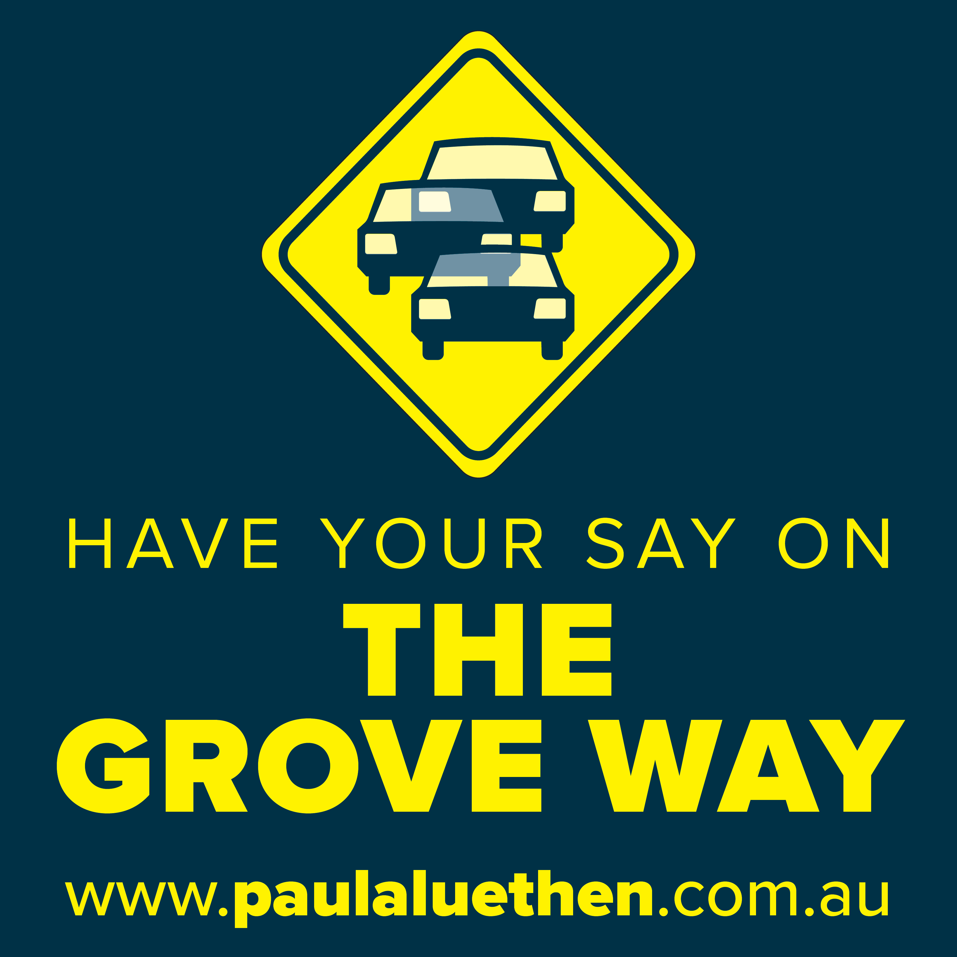 Have your Say on The Grove Way Update